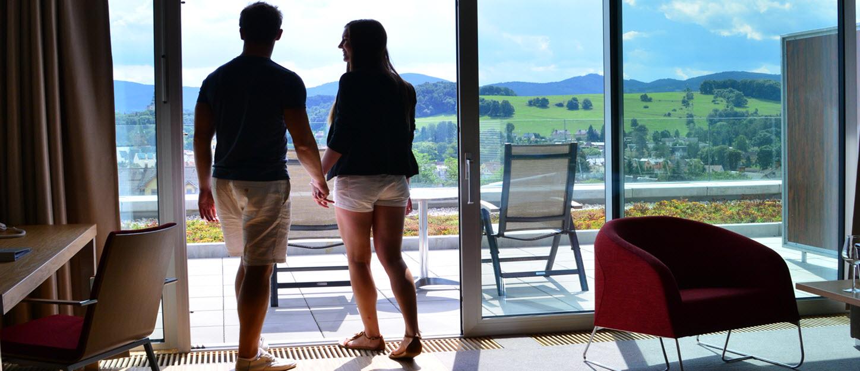Antonie Hotel - pokoj s terasou